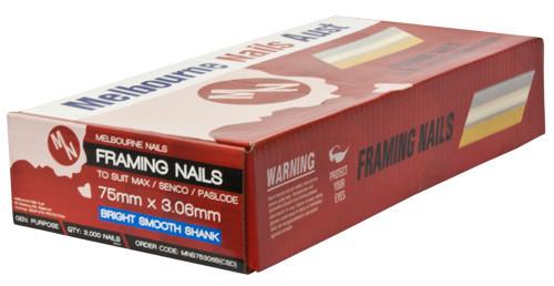 FRAMING NAILS 75 X 3.06 BRIGHT (3000ea)