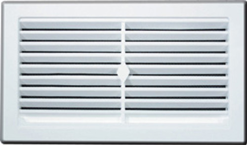 Vent Snap In Wall White