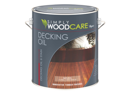 HAYMES S/W DECKING OIL Natural 4 litre
