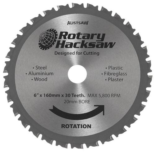 "Blade Rotary 160 (6"") X 20 X 30T"