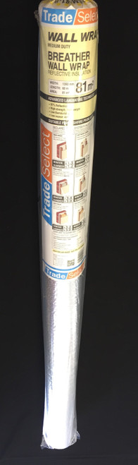 Foil BREATHER MEDIUM DUTY WALL WRAP