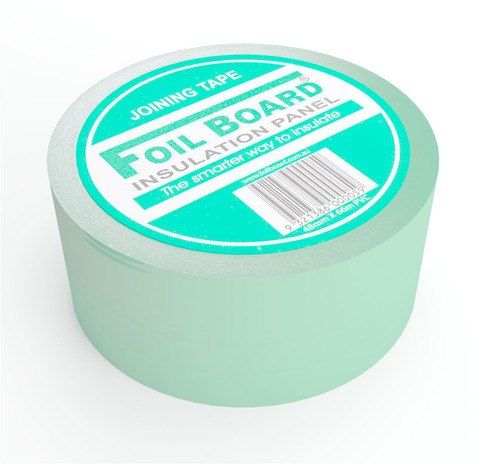 Foilboard Green Jointing Tape 48mm x 66m PVC