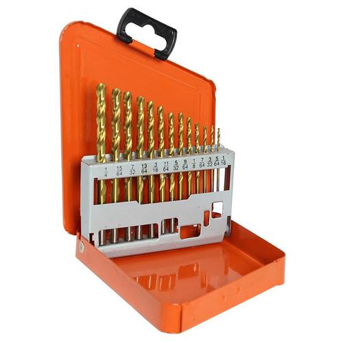 Drill Set Imperial13pcs Alpha Yellow Metal Box