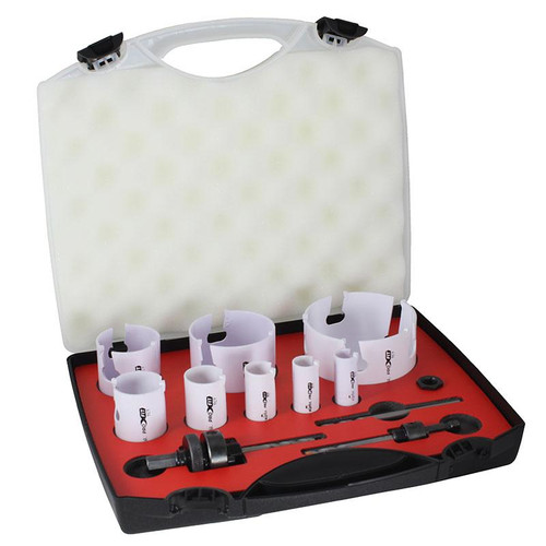 Holesaw Kit TCT Multi Purpose 12 Piece Alpha ProFit