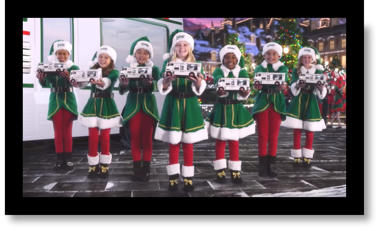 TV Commercial Choir Kids with 2018 Holiday Toy