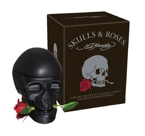 ED HARDY SKULLS & ROSES 2.5 EAU DE TOILETTE SPRAY FOR MEN