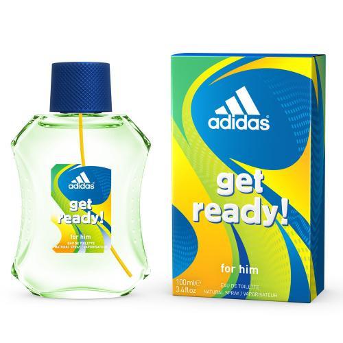 ADIDAS GET READY! 3.4 EAU DE TOILETTE SPRAY FOR MEN