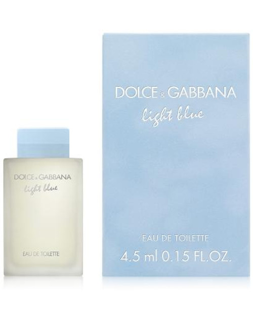 DOLCE & GABBANA LIGHT BLUE MINI 0.15 OZ EAU DE TOILETTE FOR WOMEN