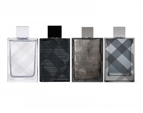 BURBERRY BRIT 4 PCS MINI SET FOR MEN: BRIT SPLASH 0.17 OZ EAU DE TOILETTE+ BRIT RHYTHM 0.17 OZ EAU DE TOILETTE + BRIT RHYTHM INTENSE 0.17 OZ EAU DE TOILETTE + BRIT 0.16 OZ EAU DE TOILETTE