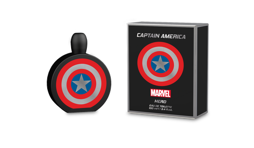MARVEL CAPTAIN AMERICA HERO 3.4 EAU DE TOILETTE SPRAY