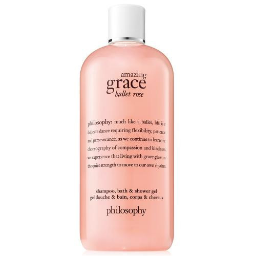 PHILOSOPHY AMAZING GRACE BALLET ROSE 8 OZ SHAMPOO  BATH & SHOWER GEL