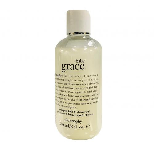 PHILOSOPHY BABY GRACE 8 OZ SHAMPOO  BATH & SHOWER GEL