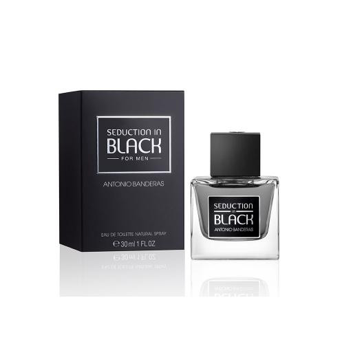 ANTONIO BANDERAS SEDUCTION IN BLACK 1OZ EAU DE TOILETTE SPRAY FOR MEN