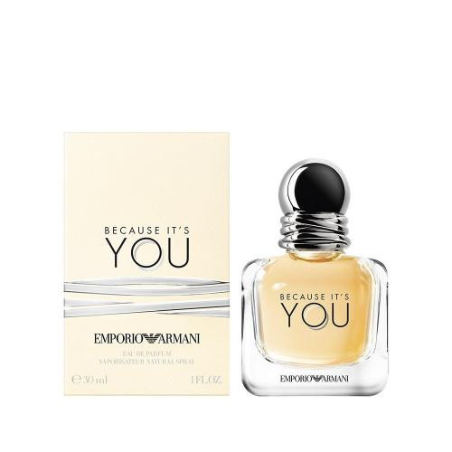 EMPORIO ARMANI BECAUSE IT'S YOU 1 OZ EAU DE PARFUM SPRAY