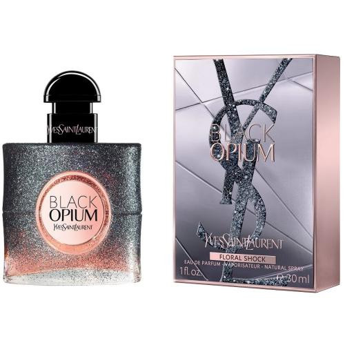 YSL BLACK OPIUM FLORAL SHOCK 1 OZ EAU DE PARFUM SPRAY