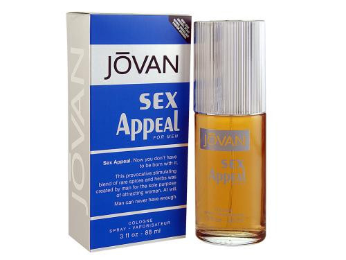 Jovan Sex Appeal By Coty 3.0 Oz Cologne Spray  For Men