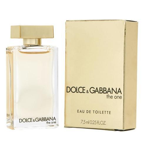 Dolce & Gabbana The One Eau de Toilette Women Mini Splash 0.25 Oz/7.5 Ml