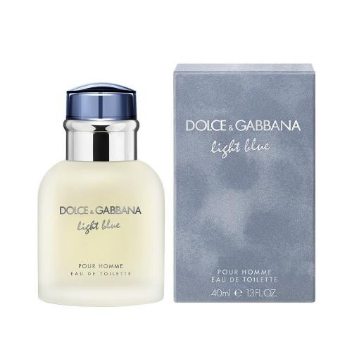 DOLCE & GABBANA LIGHT BLUE 1.3 EAU DE TOILETTE SPRAY FOR MEN