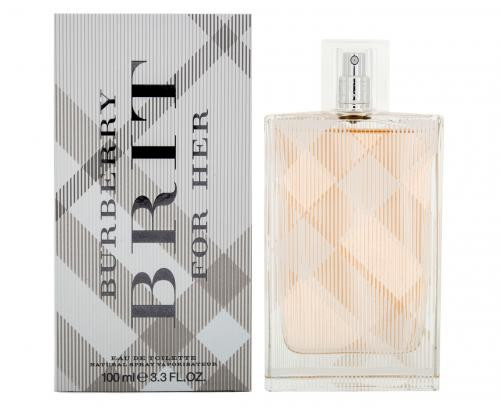 BURBERRY BRIT 3.4 EAU DE TOILETTE SPRAY FOR WOMEN