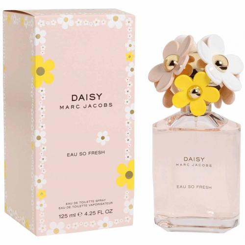 MARC JACOBS DAISY EAU SO FRESH 4.25 EAU DE TOILETTE SPRAY FOR WOMEN