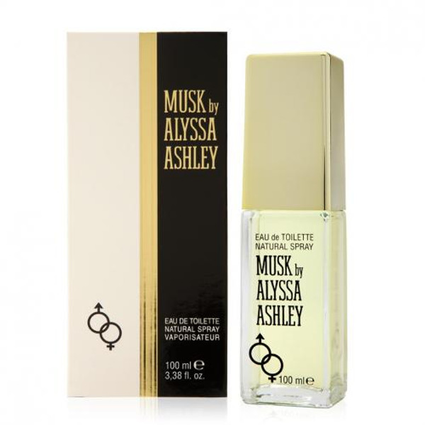 ALYSSA ASHLEY MUSK 3.4 EAU DE TOILETTE SPRAY