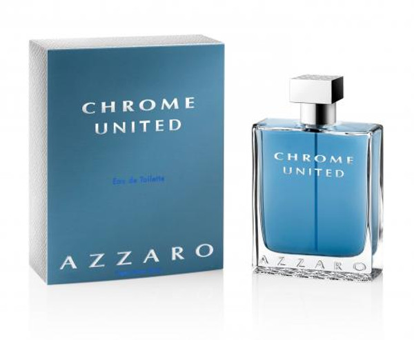 AZZARO CHROME UNITED 6.8 EAU DE TOILETTE SPRAY FOR MEN