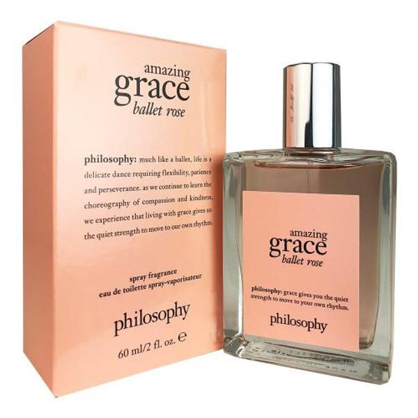 PHILOSOPHY AMAZING GRACE BALLET ROSE 2OZ EAU DE TOILETTE SPRAY