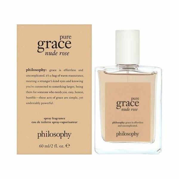 PHILOSOPHY PURE GRACE NUDE ROSE 2 OZ EAU DE TOILETTE SPRAY