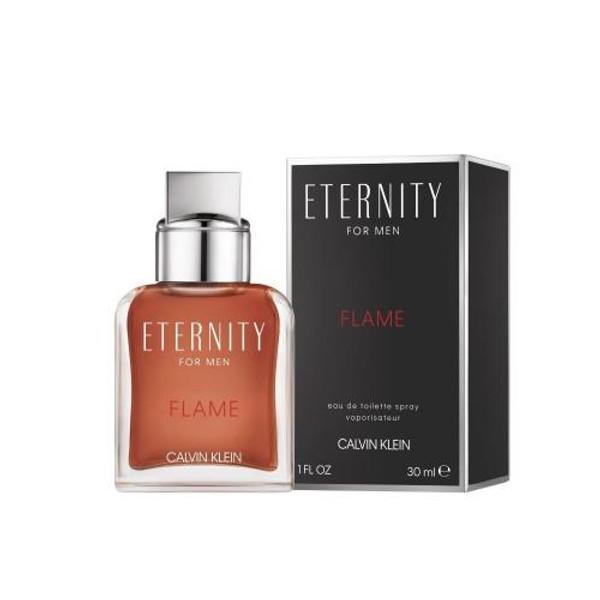 ETERNITY FLAME 1 OZ EAU DE TOILETTE SPRAY FOR MEN
