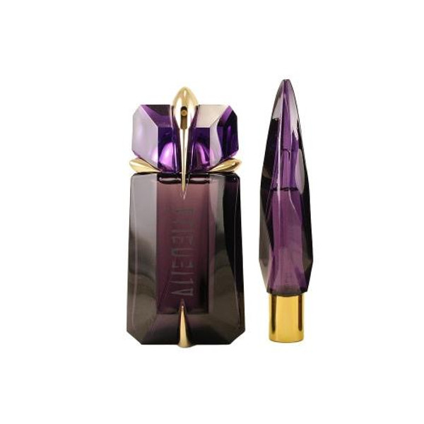 ALIEN 2 PCS SET FOR WOMEN: 3 OZ EAU DE PARFUM SPRAY + 10 ML REFILLABLE TALISMAN PURSE SPRAY (TRAVEL SET)