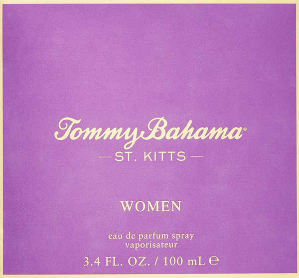 Tommy Bahama St. Kitts Women Eau de Parfum  ( EDP)Spray, 3.4 Fl Oz