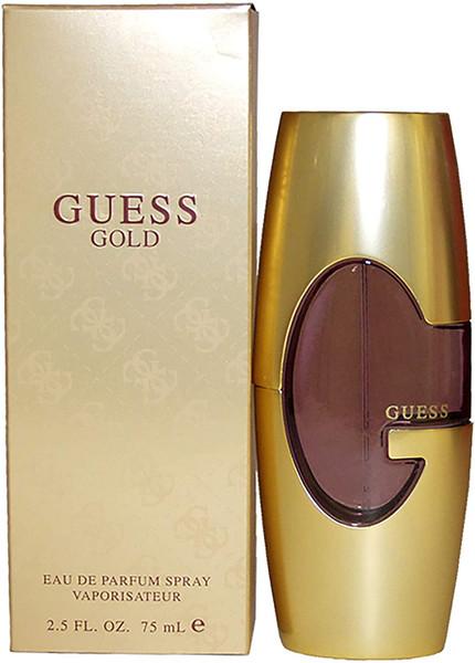 Guess Gold By Parlux Fragrances  Eau De Parfum  (EDP) Spray 2.5 Oz For Women.