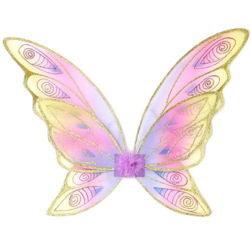 Rainbow Glitter Wings