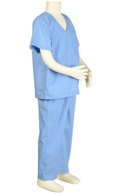 Doctor Scrubs Costume - Right Side