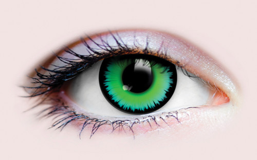 Green Werewolf Costume Contacts
