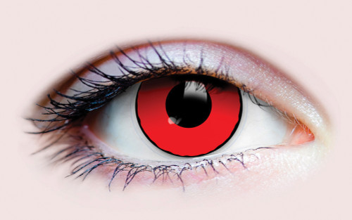 Blood Eyes Costume Contacts