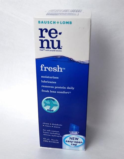 Bausch & Lomb Renu Contact Solution 60 mL