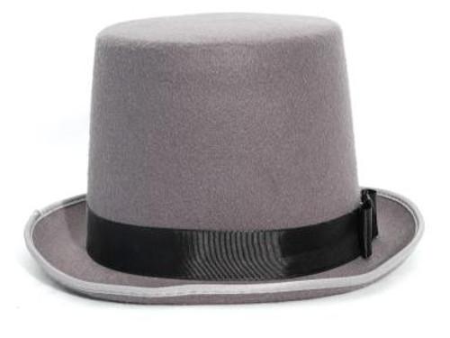 """Grey Top Hat 6"""""""