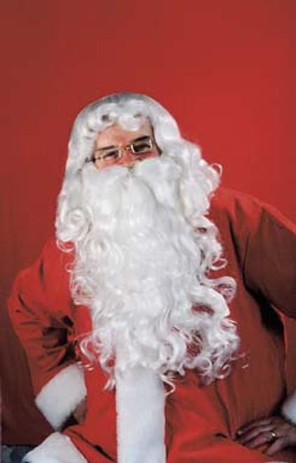 Rental Quality Santa Wig and Beard