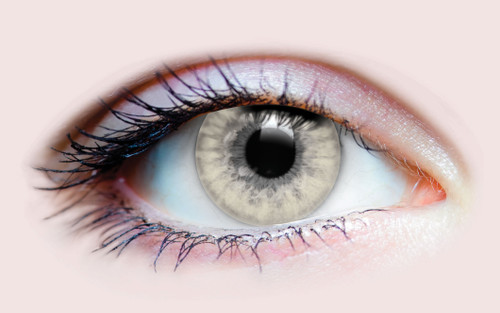 Charm Ivory Cosmetic Contacts