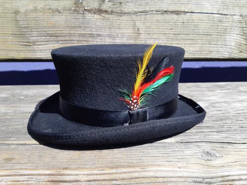 100% Wool Semi-Bell Top Hat