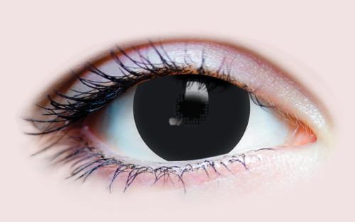 Black Mini Sclera Costume Contacts