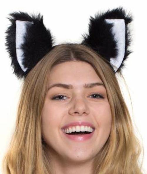 Plush Black Cat Ears