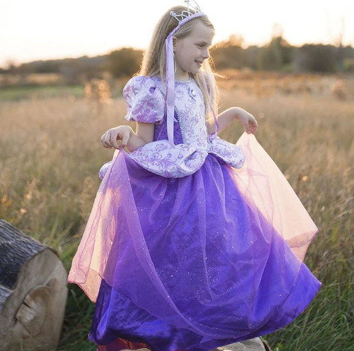 Royal Lilac Princess Gown Age 2-4 years