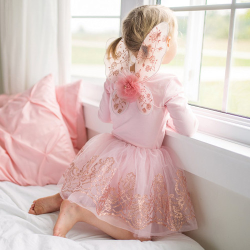 Rose Gold Wings and Tutu