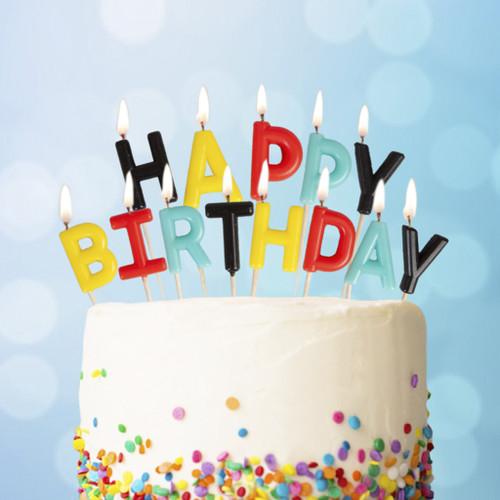 Happy Birthday Superhero Candles