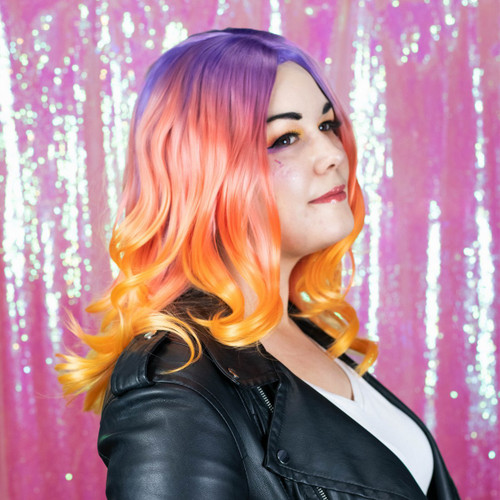 Synthwave Classic Wig