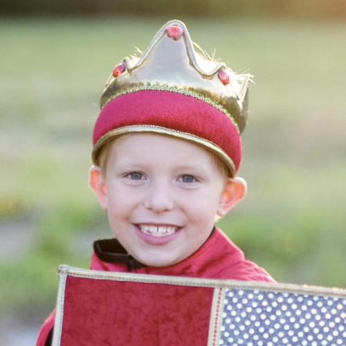 Red and Gold Kings Crown