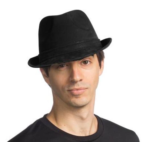 Leatherlike Fedora Hat