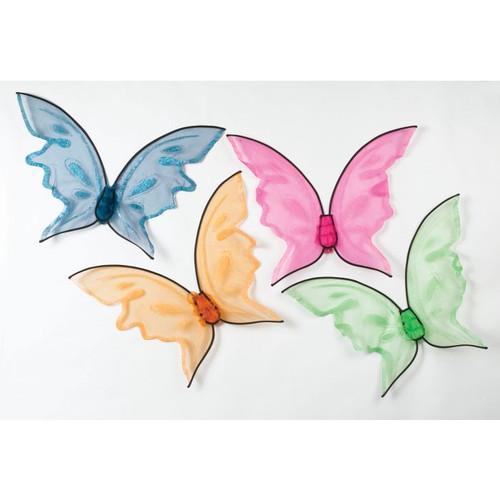Hot Orange Butterfly Wings